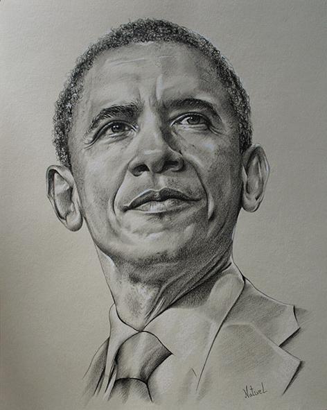 Barack Obama par AurelieNativel
